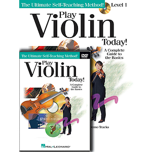 Play Violin Today! Beginner's Pack (DVD)