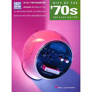 Hits of the '70s for Easy Guitar