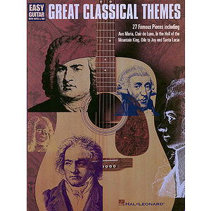 Great Classical Themes for Easy Guitar