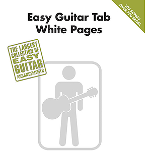 Easy Guitar Tab White Pages