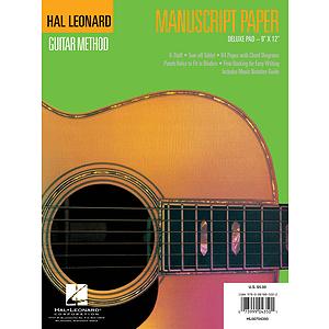 Guitar Manuscript Paper - Deluxe