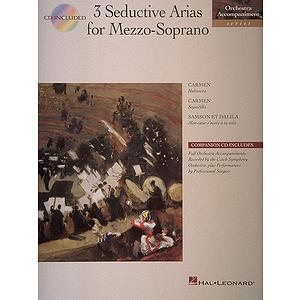 3 Seductive Arias for Mezzo-Soprano