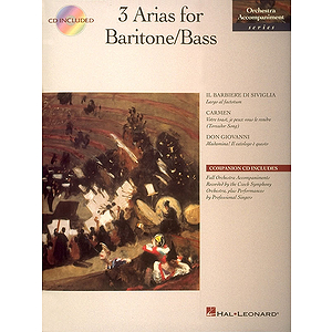 3 Arias for Baritone/Bass