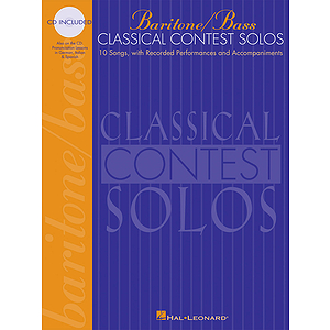 Classical Contest Solos - Baritone/Bass