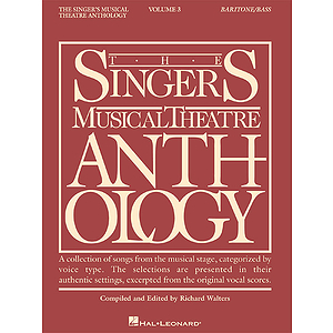 The Singer's Musical Theatre Anthology - Volume 3