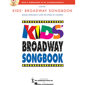 Kids' Broadway Songbook (Book/CD)