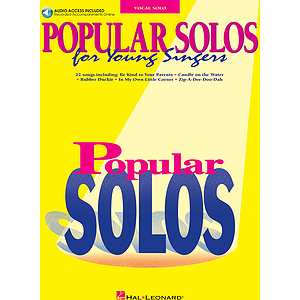Popular Solos for Young Singers