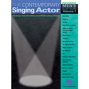 The Contemporary Singing Actor - Men's Edition