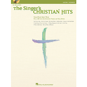 The Singer's Christian Hits - Low Voice
