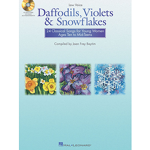 Daffodils, Violets and Snowflakes - Low Voice