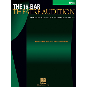 16-Bar Theatre Audition Tenor