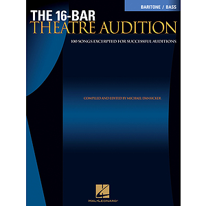 16-Bar Theatre Audition Baritone/Bass