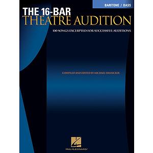 16-Bar Theatre Audition Baritone/Bass