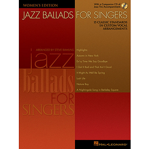Jazz Ballads for Singers - Women's Edition