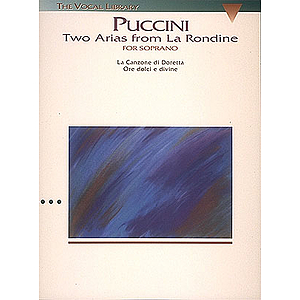 Puccini: Two Arias from La Rondine