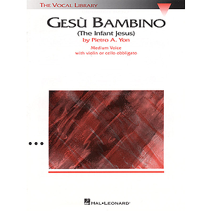 Gesu Bambino - Medium Voice