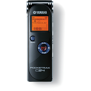 Yamaha Pocketrak C24 Digital Audio Recorder