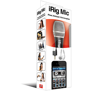 IK Multimedia iRig Microphone (for iPhone, iPod, iPad)