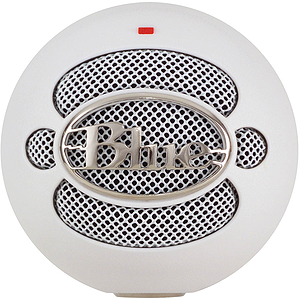Blue Microphones Snowball USB Microphone - White
