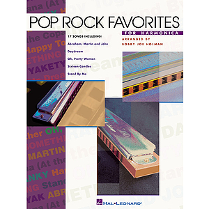Pop Rock Favorites for Harmonica