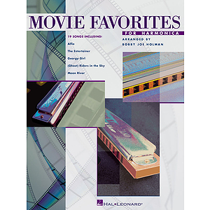 Movie Favorites for Harmonica
