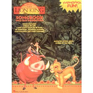 Lion King Harmonica Book Sellable