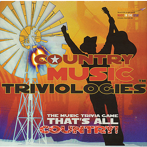 Country Music Triviologies Board Game