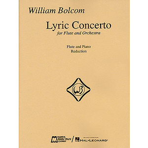 William Bolcom - Lyric Concerto for Flute and Orchestra