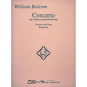 William Bolcom - Concerto for Clarinet & Orchestra