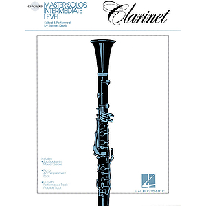 Master Solos Intermediate Level - Clarinet