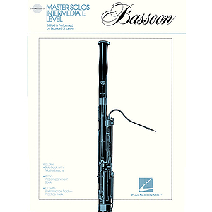 Master Solos Intermediate Level - Bassoon