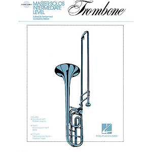 Master Solos Intermediate Level - Trombone