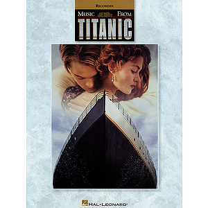 Music from Titanic for Recorder