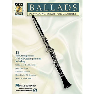 BALLADS CLARINET PLAYALONG SOLOS FOR CLARINET BK/CD