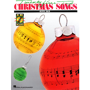 25 Top Christmas Songs - Alto Sax