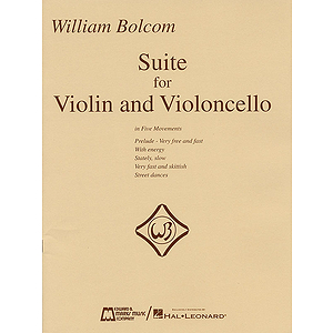 William Bolcom - Suite for Violin and Violincello