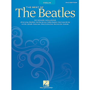 Best of the Beatles for Violin