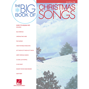 Big Book of Christmas Songs for Violin