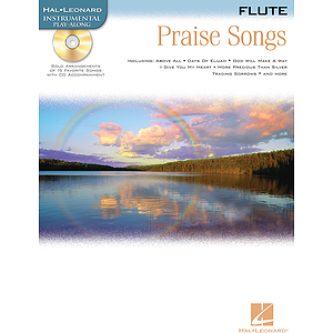 Praise Songs - Instrumental Play-Along Pack