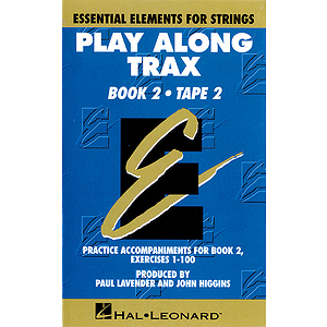 Essential Elements for Strings Play-Along Trax - Book 2, Cassette 2