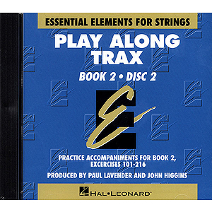 Essential Elements for Strings Play-Along Trax - Book 2, Disc 2