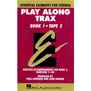 Essential Elements for Strings Play-Along Trax - Book 1, Cassette 2