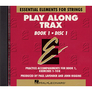 Essential Elements for Strings Play-Along Trax - Book 1, Disc 1