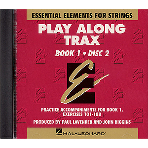 Essential Elements for Strings Play-Along Trax - Book 1, Disc 2