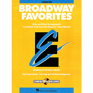 Essential Elements Broadway Favorites - Value Pak