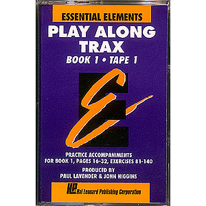 Essential Elements Book 1 Cassette 1 Play Along Trax With Norelco Box