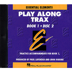 Essential Elements Book 1 - Disk 2 Play Along Trax CD