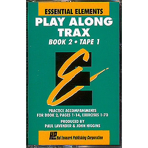 Essential Elements Play Along Trax Book 2 Cassette 1 In Norelco Box