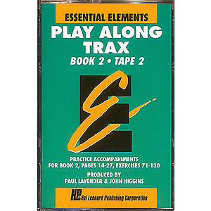Essential Elements Play Along Trax Book 2 Value Pack Cassette Pkg