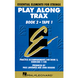 Essential Elements for Strings Play-Along Trax - Book 2, Cassette 1